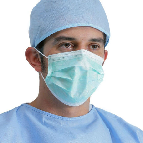 Disposable surgical non woven face mask