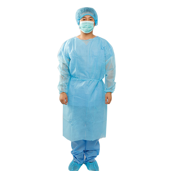 Disposable non woven isoaltion gown